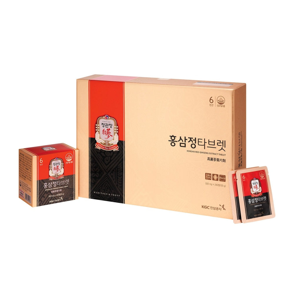 Ckj Korean Red Ginseng Extract Tablet Cheong Kwan Jang