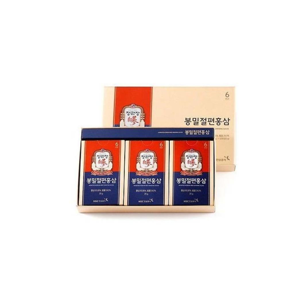 Ckj Korean Red Ginseng Honeyed Slices Cheong Kwan Jang