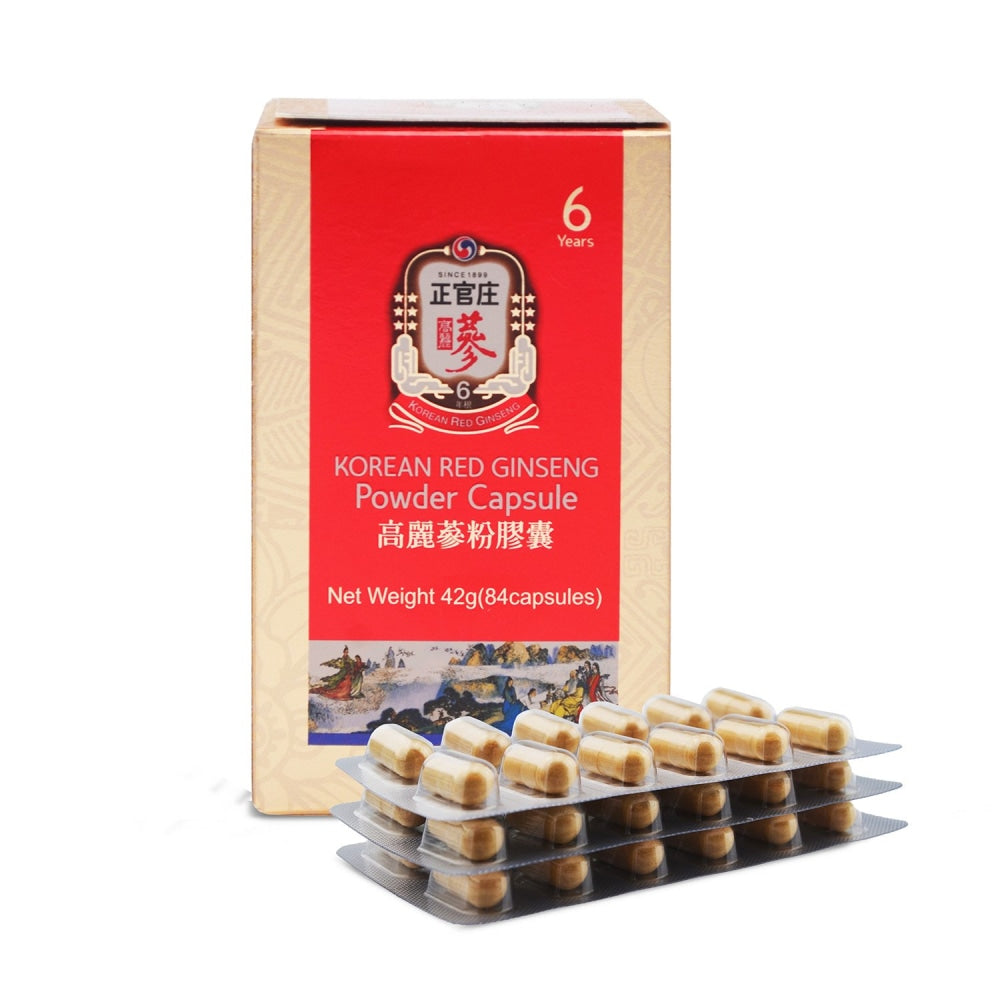 Ckj Korean Red Ginseng Powder Capsule Cheong Kwan Jang