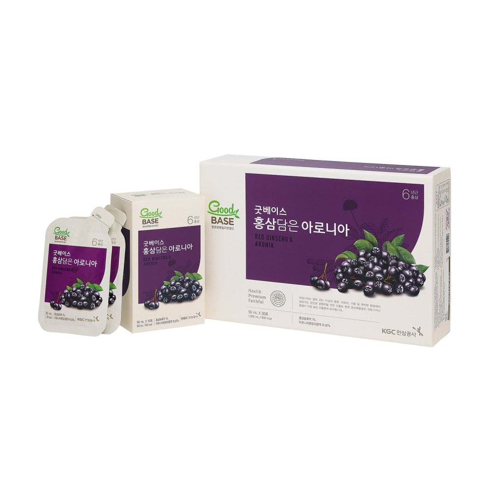 Good Base Korean Red Ginseng With Aronia 30S Cheong Kwan Jang