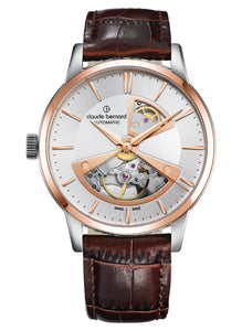 Claude Bernard Classic Automatic Open Heart 85017.357R.AIR2