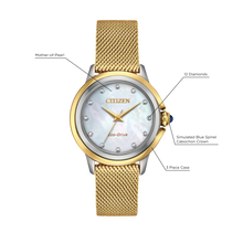 Load image into Gallery viewer, Citizen Ceci Eco-Drive EM0794-54D