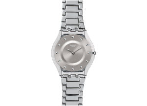 Swatch Skin SILVER DRAWER SFK393G