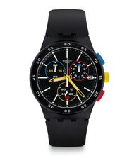 Load image into Gallery viewer, Swatch New Chrono Plastic BLACK-ONE SUSB416