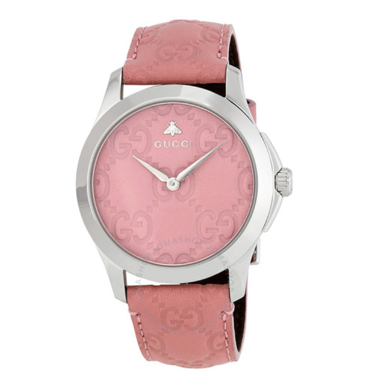 GUCCI G-Timeless Candy Pink Dial Watch YA1264030