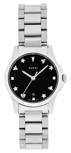 GUCCI G-Timeless Black Dial Watch YA126573