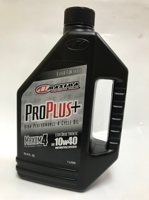 Maxima Oil  10 w 40 1lt ProPlus 100% Synthetic + Ester Fortification - Maxima Racing Oils