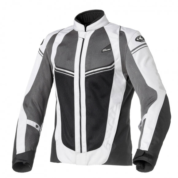 Clover Airjet-4 Grey/Black Mesh Jackets