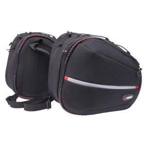 ViaTerra Falcon Saddle Bag 38lt Black