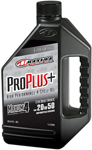 Maxima Oil  20 w 50 3.8lt ProPlus 100% Synthetic + Ester Fortification - Maxima Racing Oils