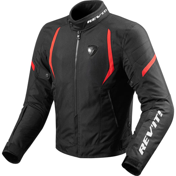 Revit Jupiter 2 Jacket Mens Black/Red