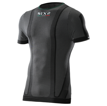 SIXS TS1L T-Shirt Short-sleeved Carbon Black