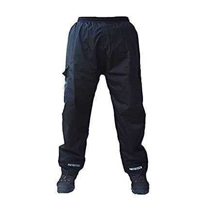MotoTech Hurricane Rain Over trousers Black