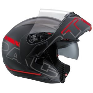 AGV K3 Modular Seattle Matt/Red/Black/Silver-Helmet