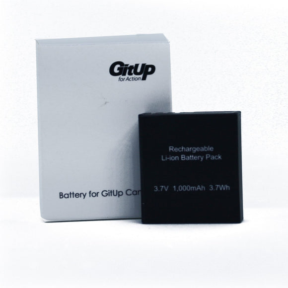 Action Camera-Accessories-Battery for GitUp Git1/ Git2 / Git2P 1000mAh