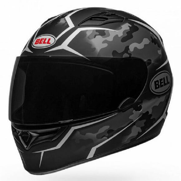 Bell Qualifier Stealth Camo Matte Helmet Black white