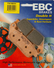 Load image into Gallery viewer, Indian Chief Vintage Spoke Wheel Brake Pads - EBC Brakes