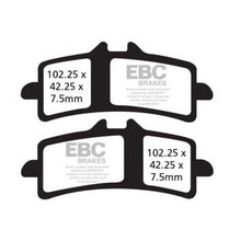 Load image into Gallery viewer, Kawasaki Ninja ZX14R Brake Pads - EBC Brakes