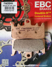 Load image into Gallery viewer, Ducati Monster 821 Brake Pads - EBC Brakes