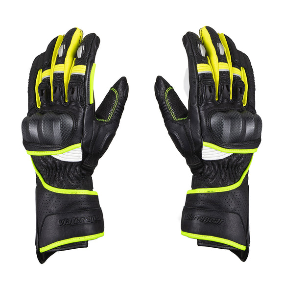VIATERRA GRID – FULL GAUNTLET GLOVES (FLUORESCENT GREEN/YELLOW )