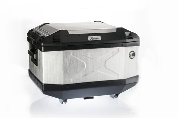 Hepco Becker Top Case 45lt XPLORER - Aluminium. PRE-ORDER ONLY