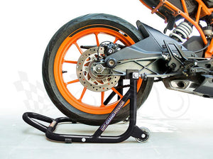 GrandPitstop Dismantable Rear Paddock Stand Black