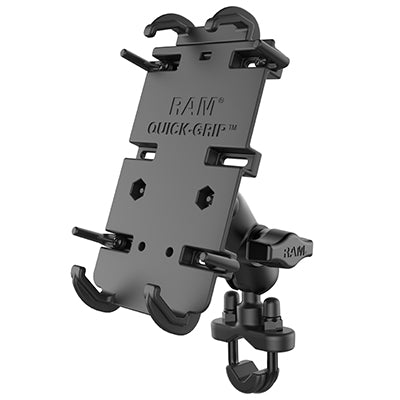 RAM Set - XL Phone Mount with Handlebar U-Bolt Base