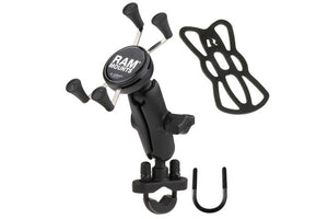 "RAM Set - Handlebar X Grip U-Bolt - Standard (Below 5"")"