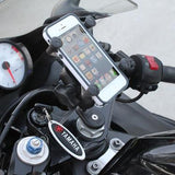 RAM Set - Fork Stem Mount X Grip Phone Cradle