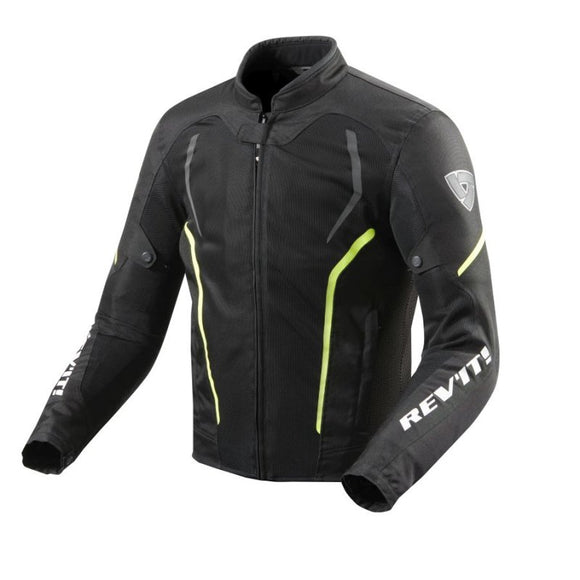 Revit GT-R Air 2 Jacket Mens Black/ Neon-Yelow