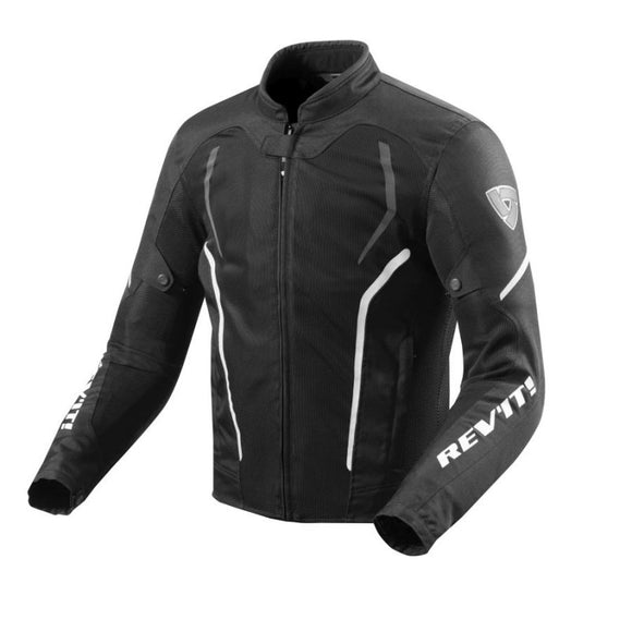 Revit GT-R Air 2 Jacket Mens Black/ White