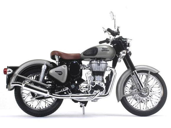 Royal Enfield Classic 350 1:12 Scale Gunmetal Grey - Maisto