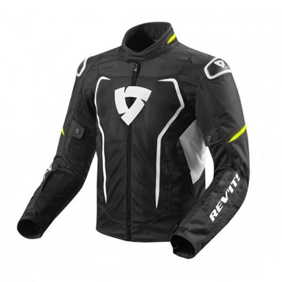 Revit Vertex Air Jacket Mens Black/Neon-Yellow