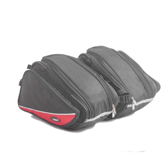 Viaterra Rapide Saddlebag Red
