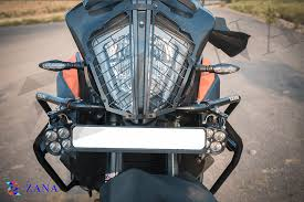 Zana KTM 390 Adventure Headlight Grill Black