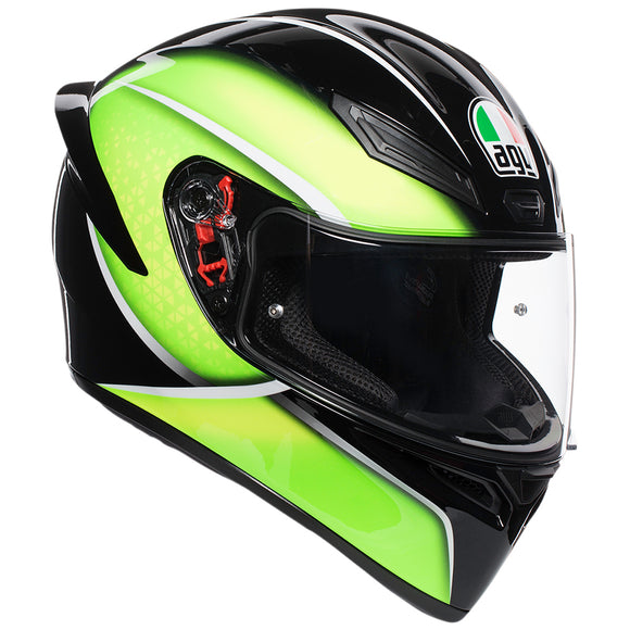 AGV K1 Qualify Lime-Helmet