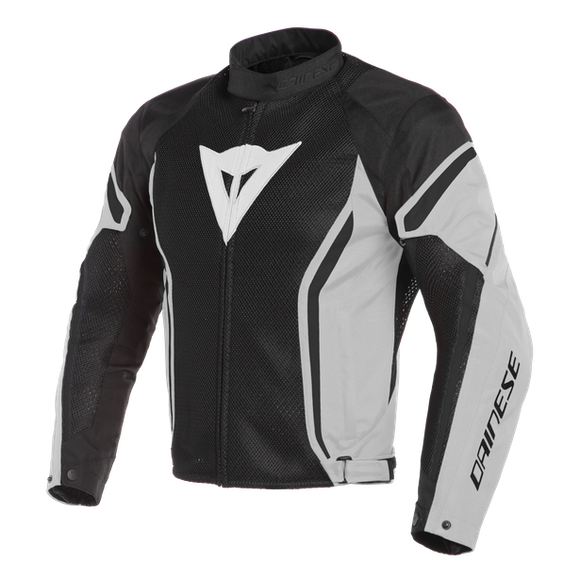 Dainese Air Crono 2 Tex Jacket Black/Glacier-Gray/