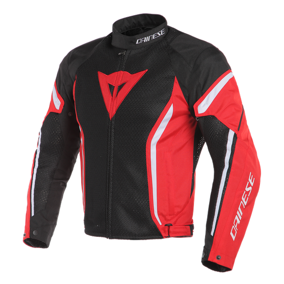 Dainese Air Crono 2 Tex Jacket Black / Red / White