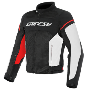 Dainese Air Frame D1 Tex Jacket  Black/White/Red
