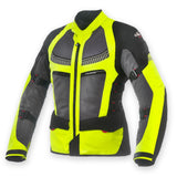 Clover Ventouring-2 4 in 1 WP Jacket-Black/FluroYellow