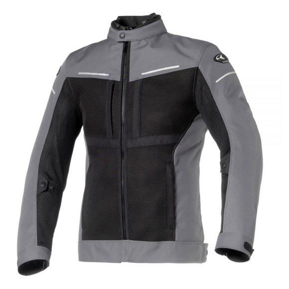 Clover Netstyle Jacket Black/Grey