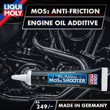 Load image into Gallery viewer, LIQUI MOLY MOS2 OIL ADDITIVE SHOOTER 20 ML
