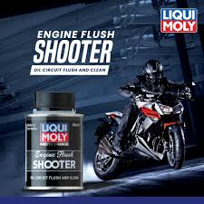 LIQUI MOLY ENGINE FLUSH SHOOTER 80 ML