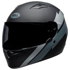 Bell Qualifier Raid Matte Helmet Black/ Grey