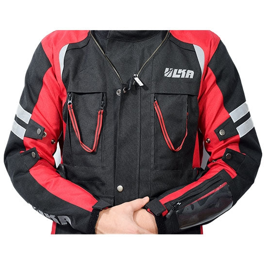 Motorcycle Riding Jacket - Hakkit Forever - Convertible to backpack - Touring