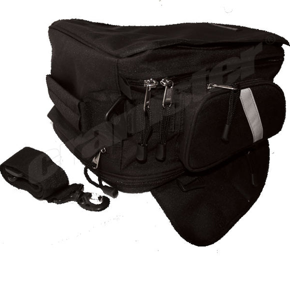 Cramster Turtle Magnetic Tank Bag Black