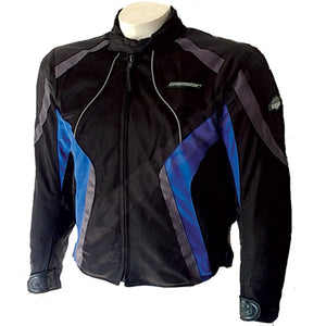 Cramster Breezer Mesh Jackets Electric Blue