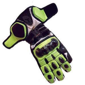 Cramster TRG Race Glove  Neon Green