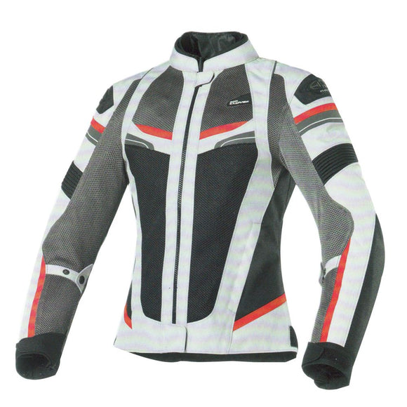 Clover Rainjet WP Lady  Jacket-Black/Grey