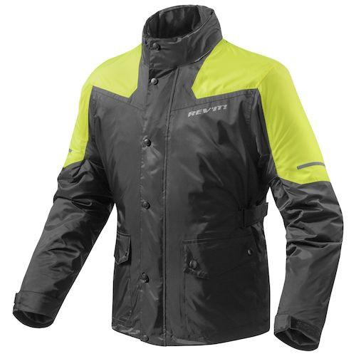 Revit Nitric Rain Jacket Black